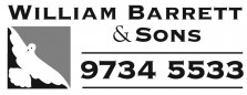 William Barrett & Sons - logo