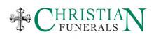 Christian Funerals- logo