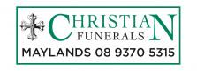 Christian Funerals - logo
