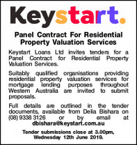 Tender - Keystart Panel Contract
