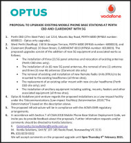 Optus Mobile Phone Base Stations