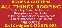 All Things Roofing