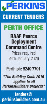 Tender - RAAF Pearce Deployment Command Centre