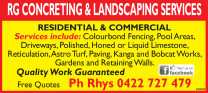 Concreting & Landscaping Services