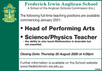 Head of Performing Arts and Science/Physics Teacher