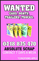 Wanted - Cars, Boats, Trailers, Trucks