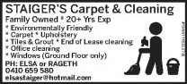 Carpet & Cleaning Services